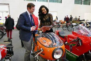 Grande interesse per le moto italiane al Padiglione C2